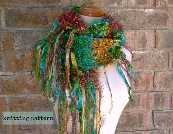 Scarf Knitting Pattern Yours Truly Scarf Pattern Knit Etsy