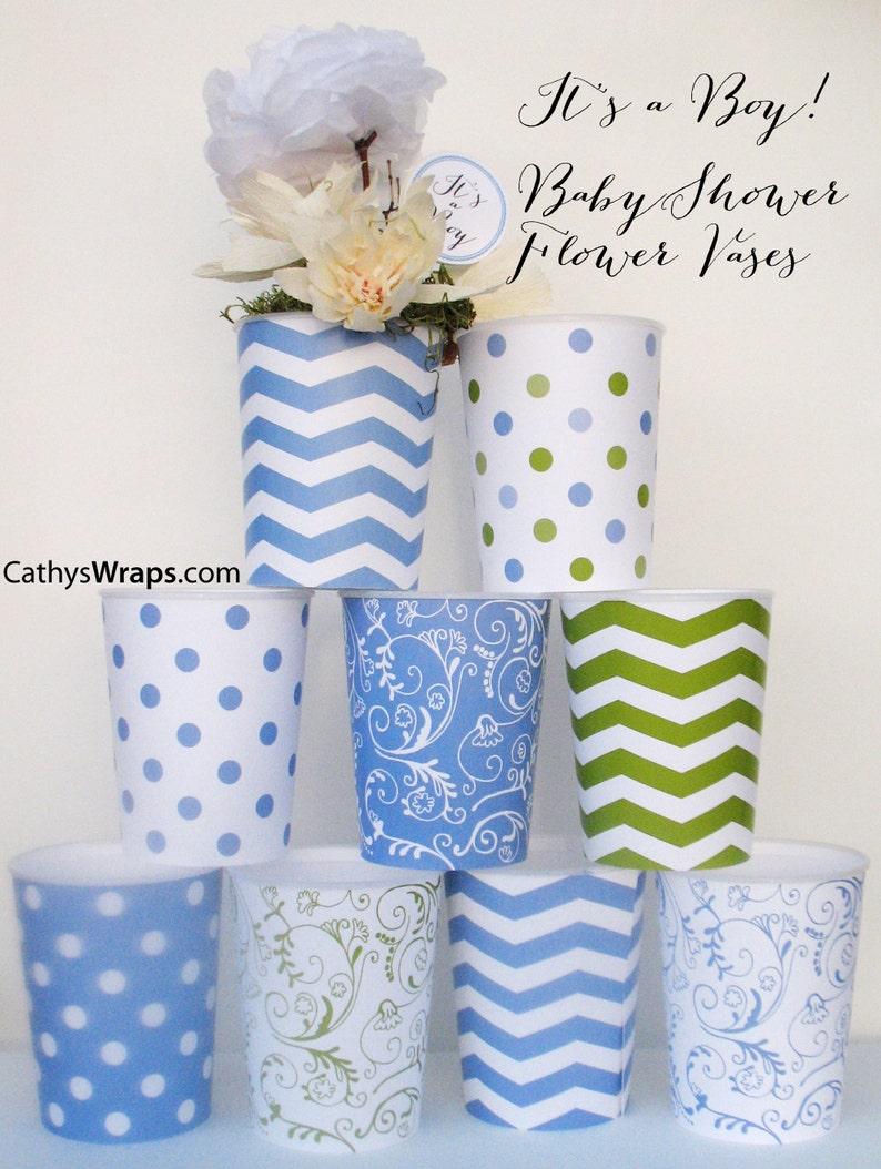 12 Whimsical Centerpiece Vases  Wedding Baby & Bridal Shower image 0