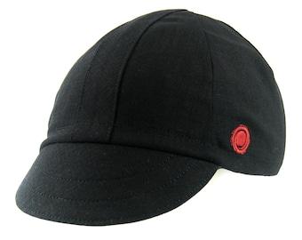 Cappello da Ciclismo Nero Cycling Cap