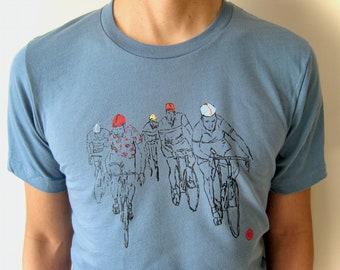 Red Dots Cycling T-Shirt