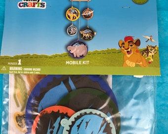 "Disney Family Crafts ""Lion King"" Mobile  Kit, New"