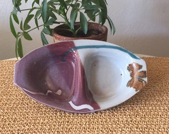 Studio Pottery Condiment Dish
