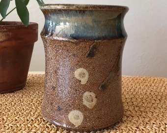Brown and Blue Vase