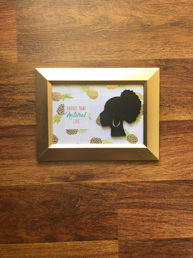Black Girl Magic Positive Affirmation Thinking of You Gift Black Owned Business Unapologetically Black