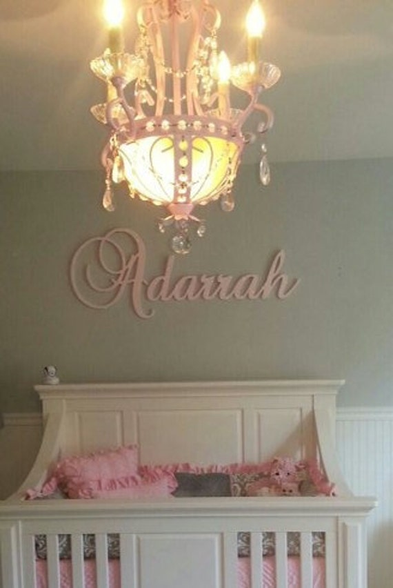Custom made Many other designs available ANY NAME Wood Letters-Nursery Decor
