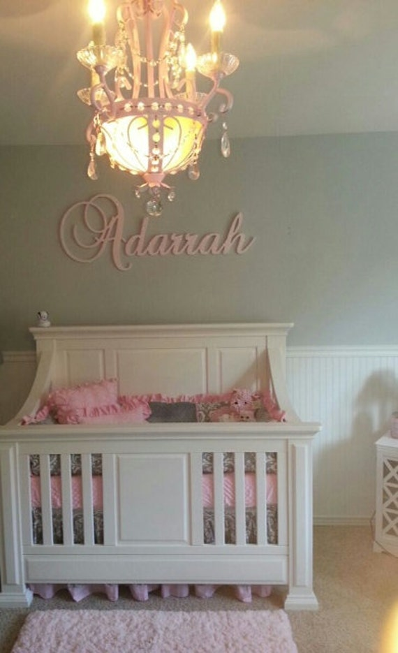 Children/'s Personalized Wooden Name Wall Letter Decor Baby Room