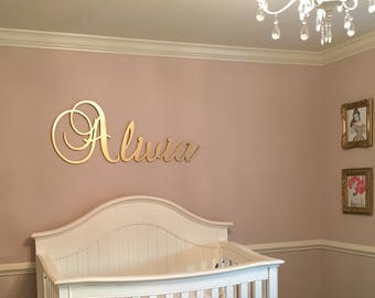 Wooden Name sign! Office large Wooden name sign letters Baby Name Wooden nursery name nursery decor wooden wall art above a crib