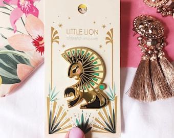 Little Lion Pin