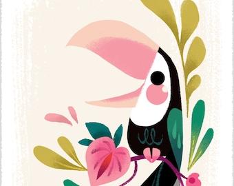 Tiny Toucan Print