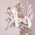 Carousel Unicorn Print