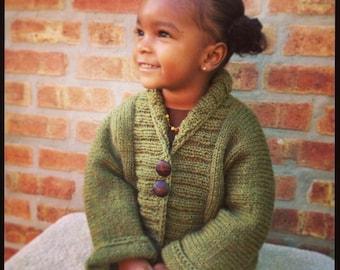 Hand Knit Kimono Jacket