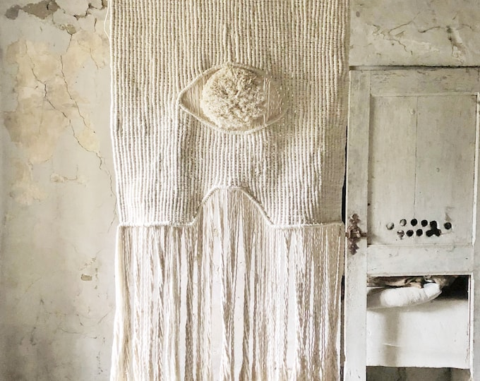 Featured listing image: MATIASMA 1  Big macrame wallhanging. Made to order