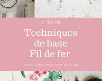 Wire  technique,  PDF to download wire DIY, wire art, in FRENCH