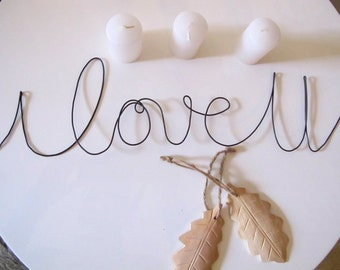 "Wire message "" I love U """