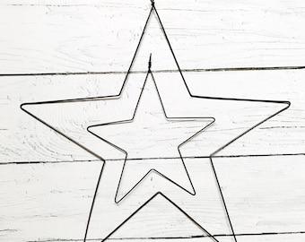 Wire star, annealed wire