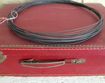 Steel black  wire, annealed wire,  diameter 1.3 mm ( ga 18)  - 20 m or 65,6 ft
