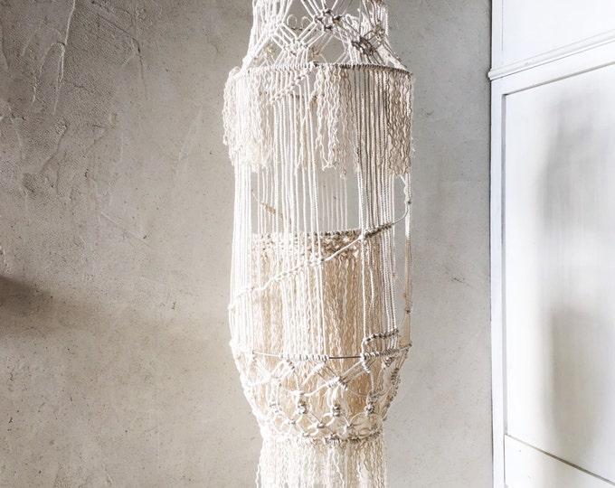 Amazing macrame lantern