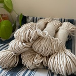 Macrame cotton string, 164 ft (50 m),  2 mm, macrame cotton, natural raw single twist 2 mm, cotton rope, single twist