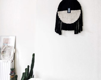 MATIASMA #5 ; Original and unique macrame wallhanging. Unique piece