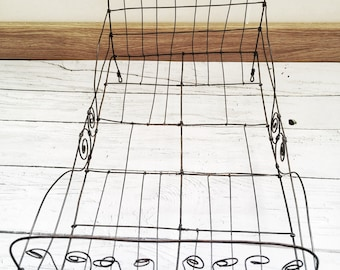 Doll wire bed, handmade doll wire bed, decorative doll wire bed, collection bed
