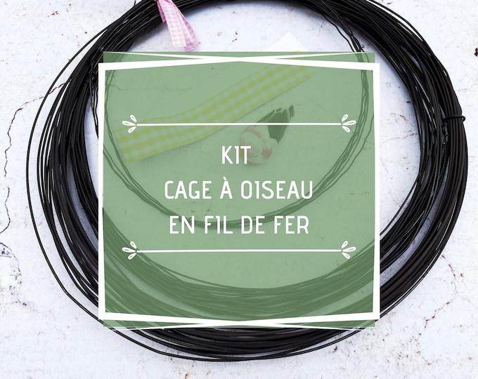 Craft Kit Wire cage, Craft set , DIY wire, wire kit, annealed wire