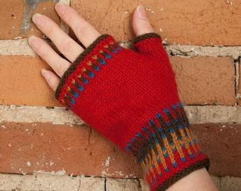 Nordique II Mitts Knitting Pattern - PDF