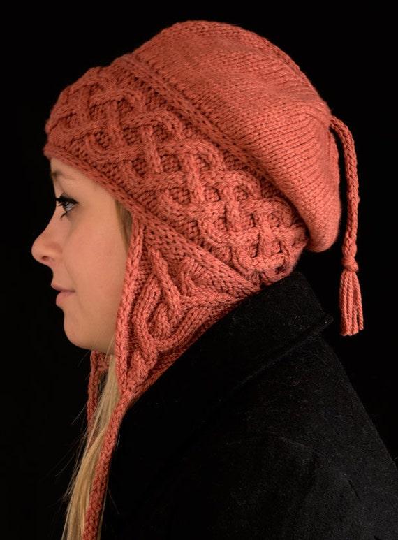 Kolmen Earflap Hat Knitting Pattern Pdf Etsy