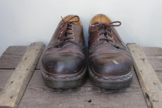 2e1bfab0fd6ba6 Vintage Herren braun Dr. Martens Doc Martens Leder Schuh
