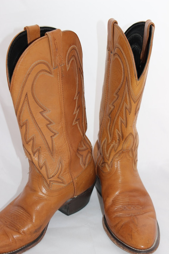 Vintage Laredo Cowboy Boots Size 10 Mens Cool Cowb