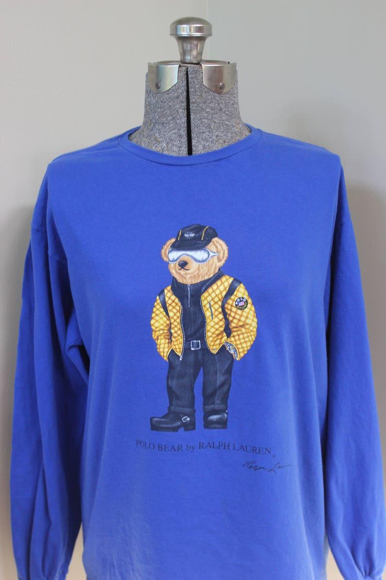 Boots M Cotton Watch Biker Sunglasses Bear Blue Shirt Hat Teddy Ralph Lauren Long Polo T Belt Sleeve Jeans Royal By Signature hrdBstoQCx