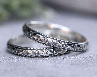 art nouveau ring etsy
