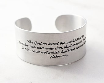 af925596a08 Inspirational Bracelet - Engraved Cuff Bracelet, Personalized Bangle  Bracelet, Custom Cuff, Engraved Bracelet, Quote Bracelet - Thick Cuff