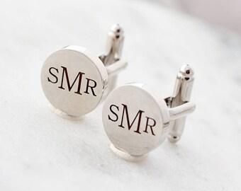 Personalized Cuff Links / Custom CuffLinks / Engraved Cufflink / Groomsmen Gift / Groom Gift / French Cuff Links / Wedding Gift For Men MNG