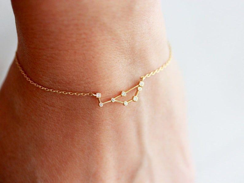Zodiac Bracelet / Astrology Bracelet / Zodiac Constellation / image 0