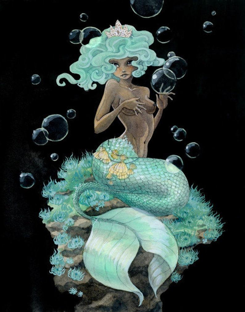 Mermaids Set of 12 Postcards