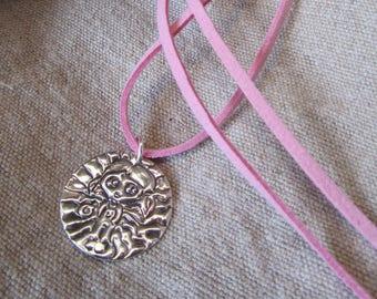 """OOAK sterling silver pendant """"I luv my Blythe"""".Colgante de plata de ley """"I luv my Blythe"""", pieza única"""