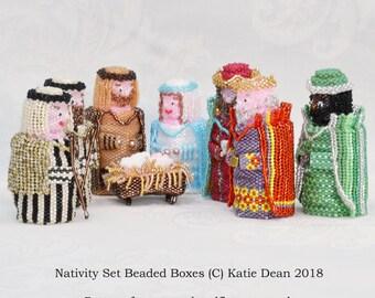 e7db2f9738c20 Beaded Nativity Pattern to make Mary