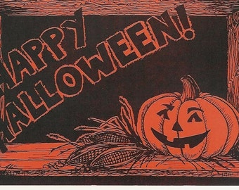 Set of 30 Halloween Postcards