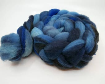 Stormwaters - 2oz - 57g - Carded Domestic Corriedale Roving