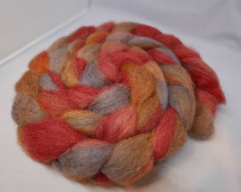 The Old Boiler - 1oz - 28g - Carded Happy Sheep Blend Roving