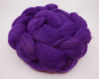Purple People Eater - 4oz - 114g - Combed Shetland Top