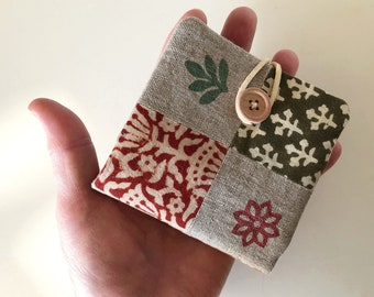 Patchwork Needle Book - Small Gift