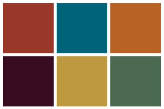 Stoff Farbe Set Mediterranen Farben Starter Set Stoff Drucken Sechs Benutzerdefinierte Farben