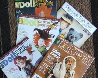 Doll Crafter Magazines and Dolls And Teddy Bears