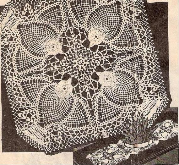 Quadrat häkeln Deckchen Muster häkeln Vintage quadratische | Etsy