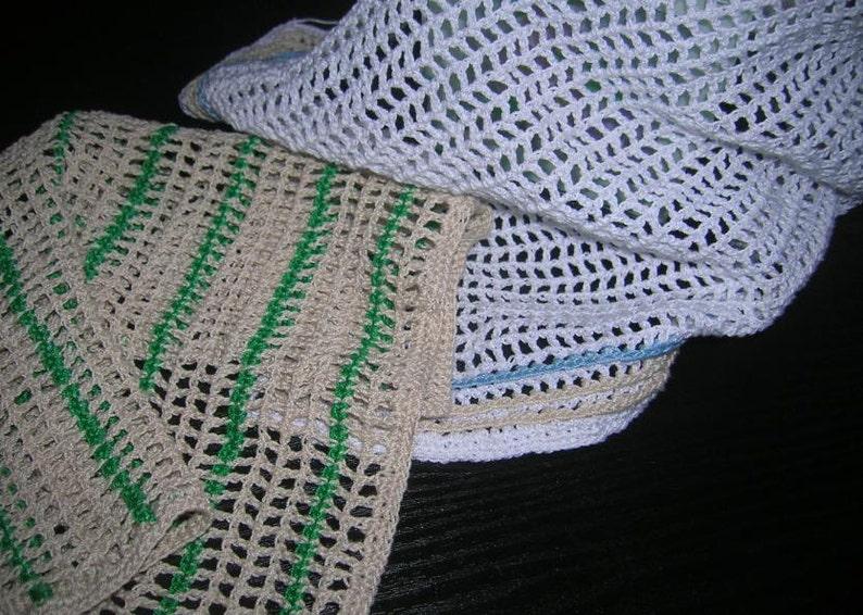 Filet Kitchen Crochet Dish Towels Dishcloths Crochet Towel Etsy