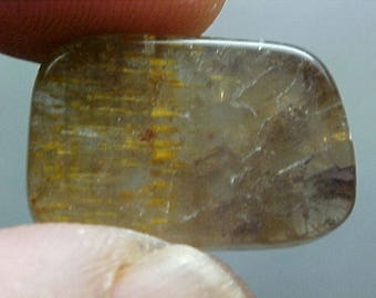 Agape Crystal Sacred Seven Quartz Slice Super Fine Minerals For Wire Wrapping 036