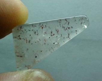 Agape Crystal Sacred Seven Quartz Slice Super Fine Minerals For Wire Wrapping 033