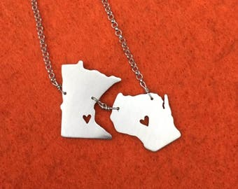 Two state charms- one chain