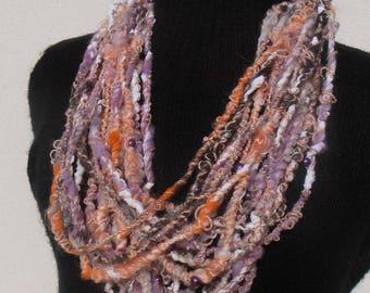 Perlée: handspun art yarn